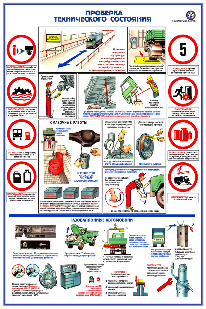 Инструкция по технике безопасности и охране труда в автосервисе